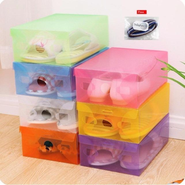 Rp 36.700 5 Pcs Transparant shoes box - Kotak Sepatu TransparanIDR36700. Rp 37.000. Heels kotak tahu vintage wanita ...