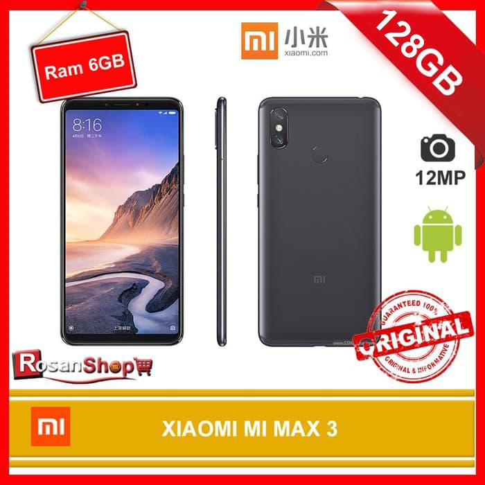 XIAOMI MI MAX 3 - MIMAX 3 128GB RAM 6GB 12MP - GLOBAL VERSION - BNIB