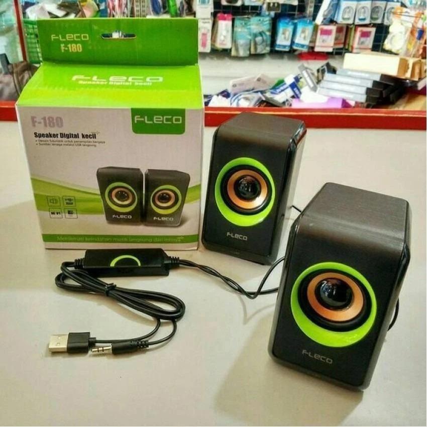 Speaker FLECO F-180 Digital Mini Hp Komputer Audio [ BMS 180 ]
