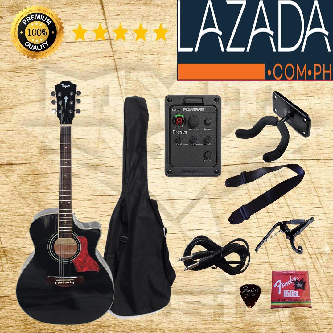 gitar akustik elektrik taylor equalizer FISHMAN
