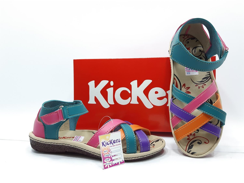 List Harga Sepatu Sandal Anak Terbaru 2018 Cekharga Laki 1604 306 Brown Size 26 31 Kickers Kode B118