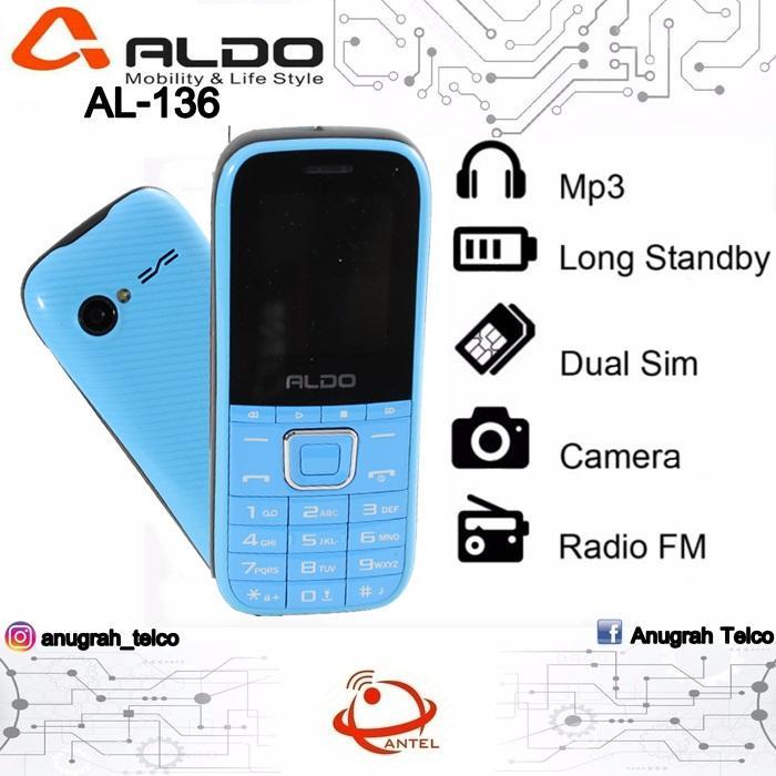 Hp Aldo AL-136 Express Music Dual SIM Aldo AL136 AL 136 Camera FM Radio