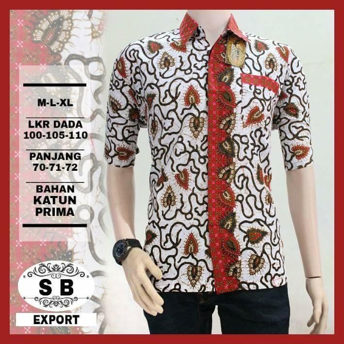 Kemeja batik   baju batik pria   batik Pekalongan   hem batik   grosir batik cc4f0a7b53