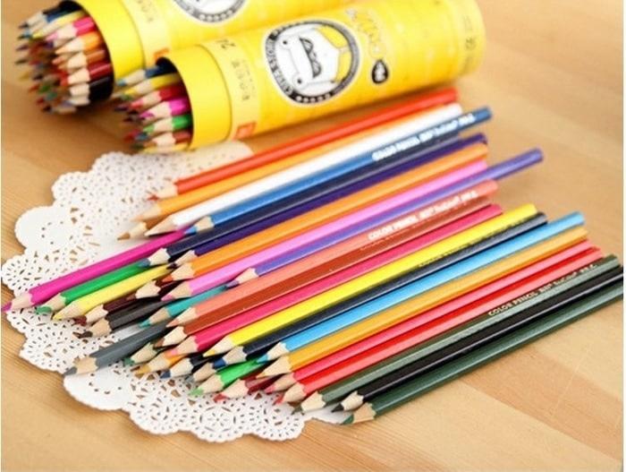 Pensil Warna Anak 18 Warna / Pcs Terbaru & Terlaris