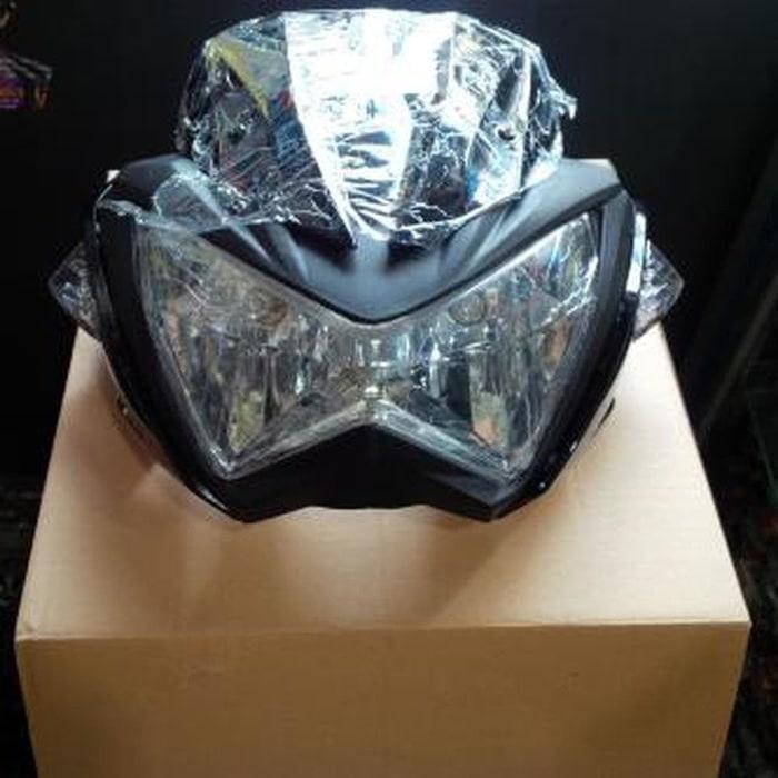 Headlamp z250 kw Batok lampu lamp utama depan modif motor sport
