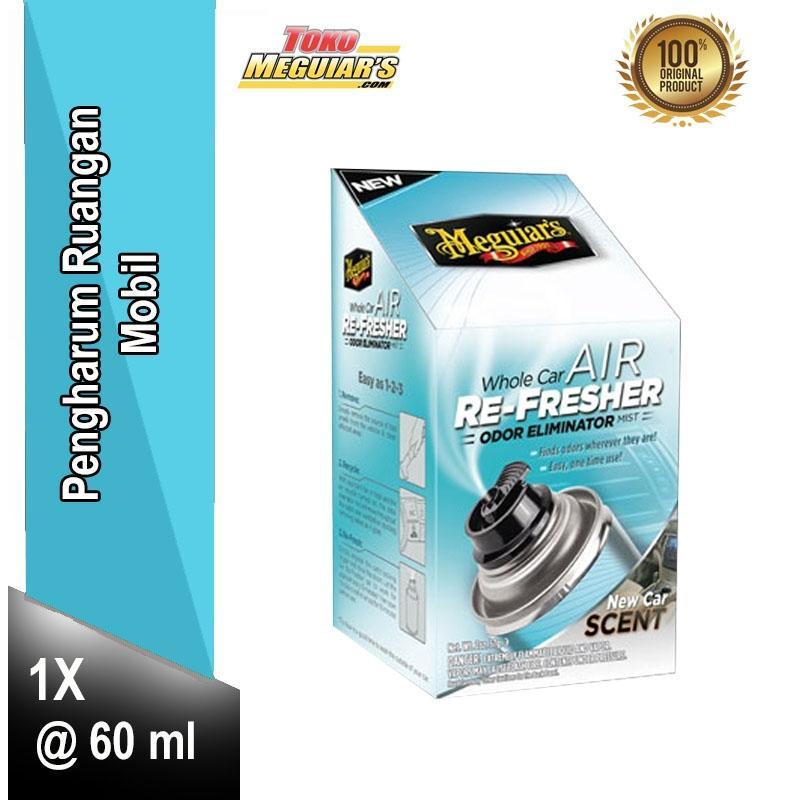 Meguiar's Whole Car Air Re-Fresher Odor Eliminator 60 ml  G16402 - 1 Buah - Pengharum Ruangan Mobil