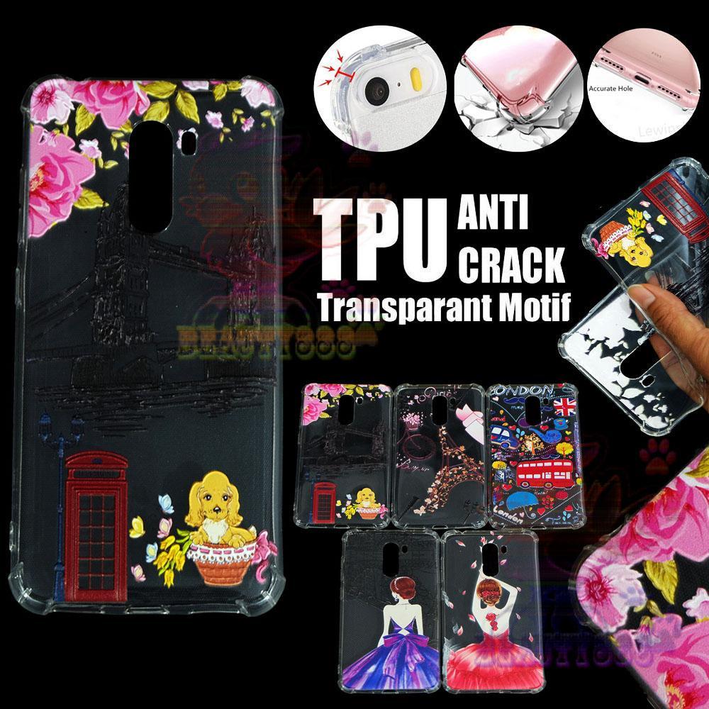 Beauty Case Anti Crack Xiaomi Pocophone F1 Case 3D Luxury Animasi Jembatan Inggris London Softcase Anti Jamur Air Case 0.3mm / Silicone Xiaomi Pocophone F1 / Silikon Anti Shock / Case Hp / Jelly Case Xiaomi Pocophone F1 / Anti Crack Gambar - 4