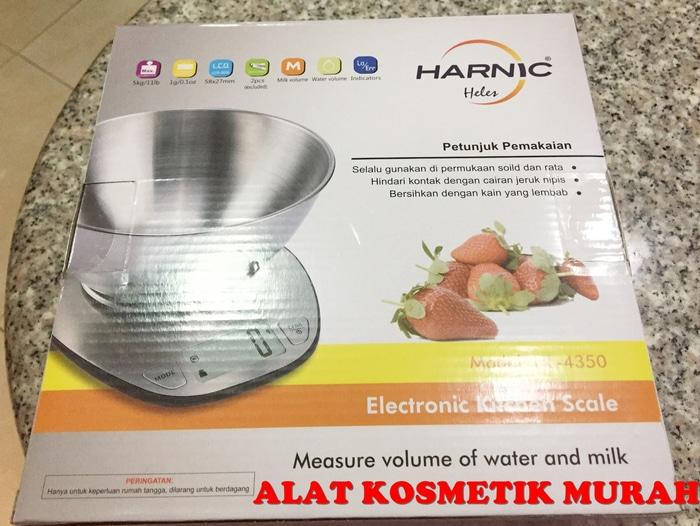 JUAL HARNIC HELES ELECTRONIC KITCHEN SCALE/ TIMBANGAN DIGITAL HL 4350
