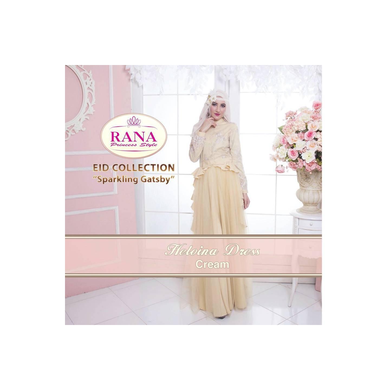 Rana Heloina Dress/Gamis Pesta/Baju Muslim Couple