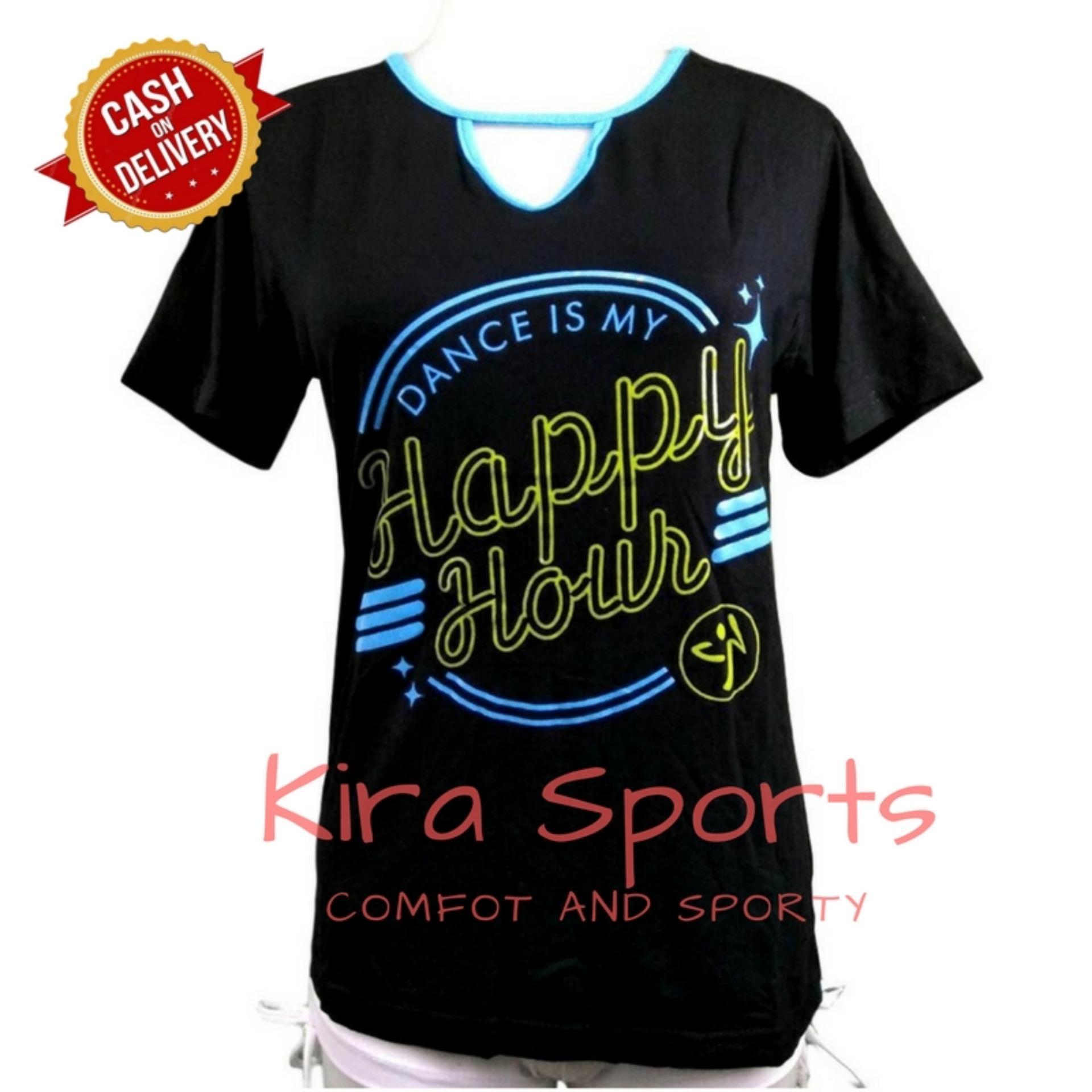 Rp 99.900. Kira Sports Tanktop Senam Wanita / Atasan Kaos ...