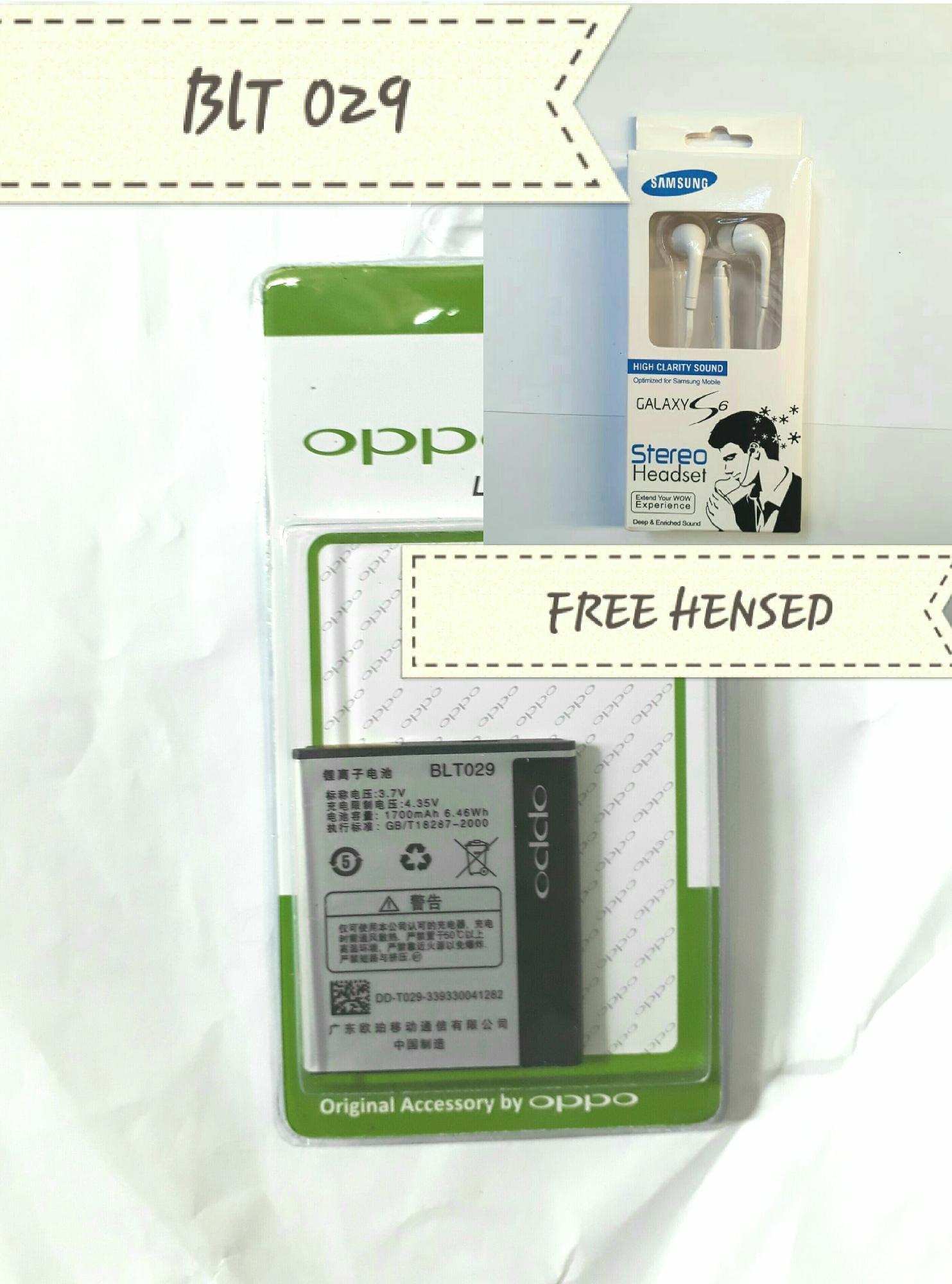 Baterai Handphone Oppo BLT029 Clover R815 Original OEM Batre Batrai Hp
