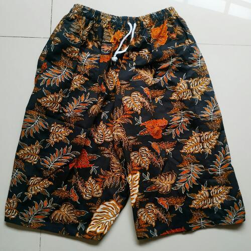 Batikbimi celana pendek batik size standar bahan halus berkualitas