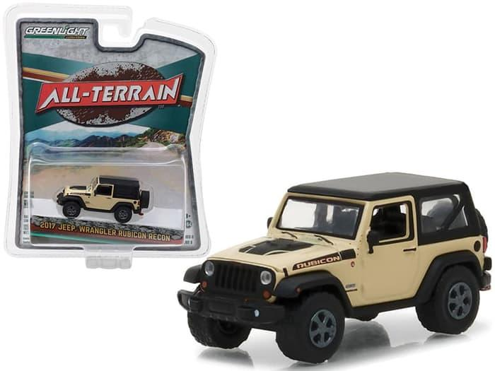 TERLARIS Greenlight 1/64 2017 Jeep Wrangler Rubicon Recon All Terrain Series 6