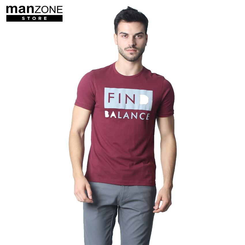 Manzone Men's Top BROONZE 1 Maroon