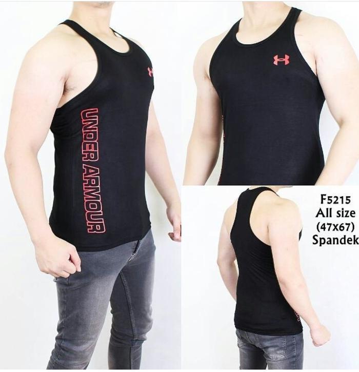 01 Singlet Adidas Gym Running Bodyfit Spandex - t4gca0