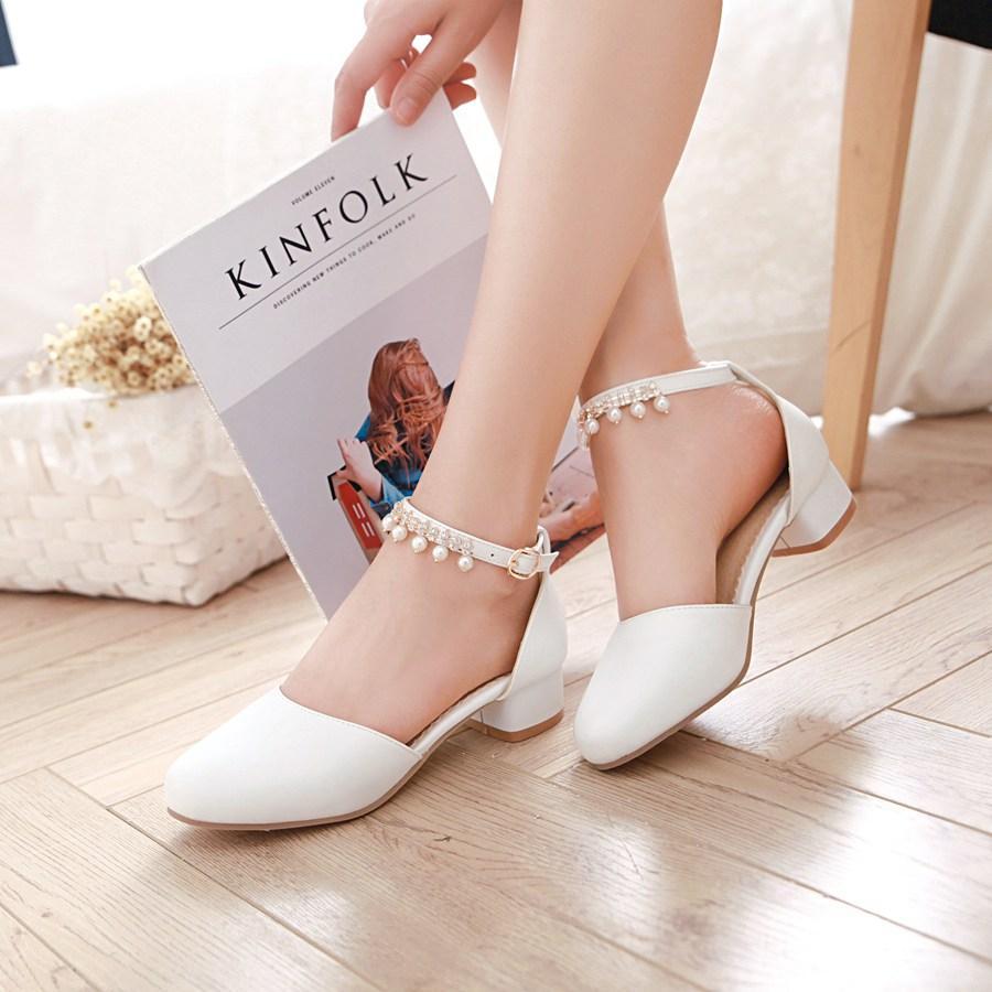 Rp 272.000 2019 musim panas model baru Anak prempuan tumit tinggi Sandal Summer ...