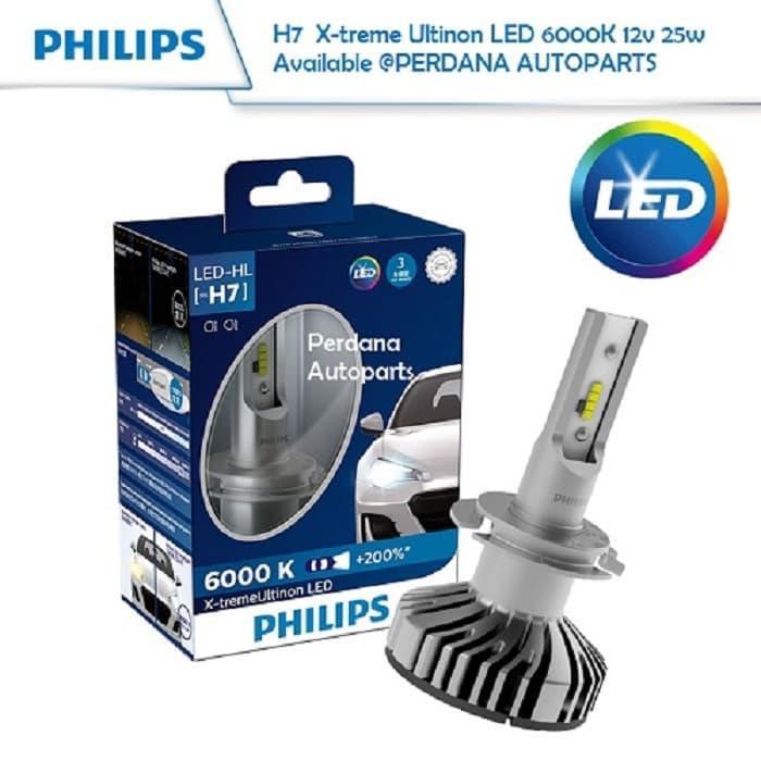 Bohlam LED H7 Chevrolet Trax 1.4L LED PHILIPS Xtreme Ultinon G