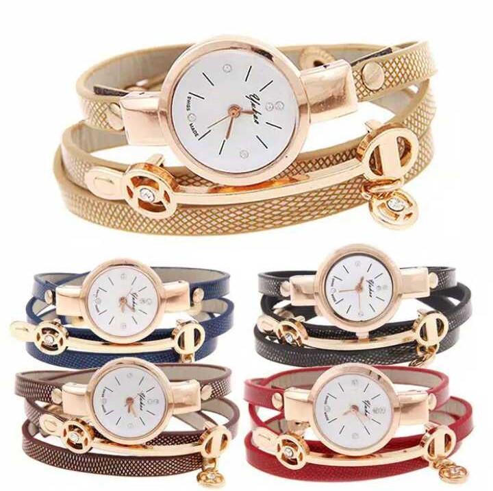 Yuhao Jam Tangan Gelang Wanita Korea Fashion Women Bracelet Wrist Band Watch  SW055 bf19d684da