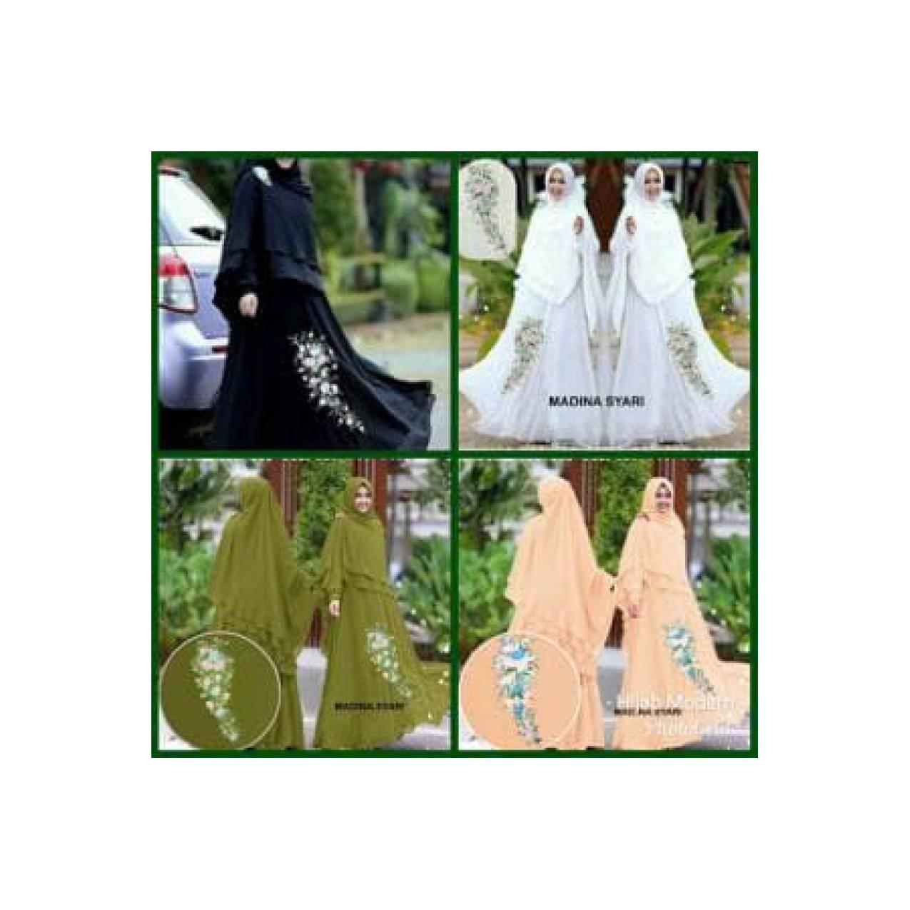 Hijab Modern Adara Syari Set 2in1 ( Gamis Busui + Jilbab Bergo Limited