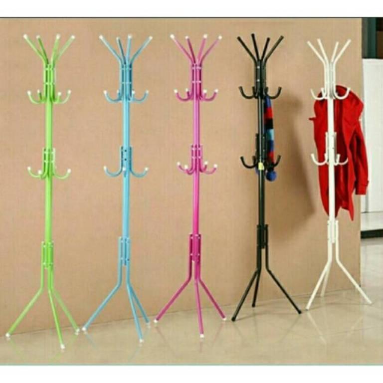 Kado Unik-- Stand Hanger Multifungsi / Gantungan Pakaian / Tiang Gantungan Baju / Stand Hanger Berdiri / Jemuran Baju / Jemuran Model Gantung / Hanger Gantungan Baju / Stand Hanger / Gantungan Baju Gantung Murah