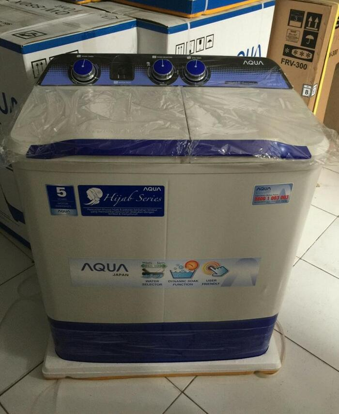 Best Top Seller!! Mesin Cuci 2 Tabung Sanyo Aqua 781Xt. 7Kg. Hijab Series - ready stock