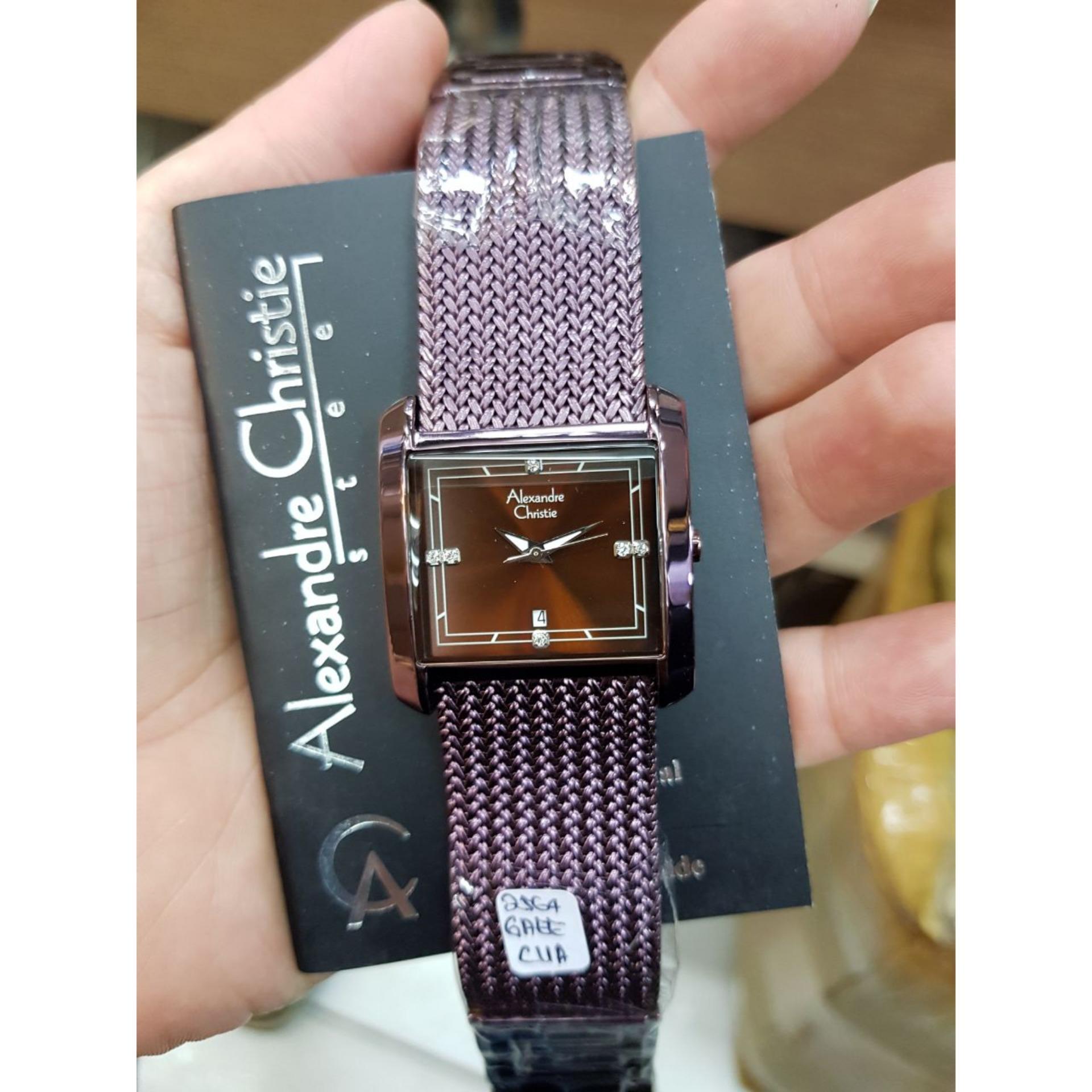 Alexandre Christie AC2564OS - Jam Tangan Fashion Wanita Murah - Design Pasir Steel