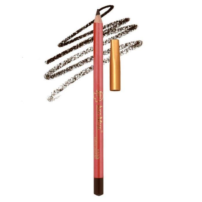 (801) Pensil Alis JustMiss Oren PANJANG / Eyebrow Pencil / Just Miss -  Pensil Alis - Eyebrow Kit Kece - Aksesoris Kecantikan - Pensil Alis JustMiss Original