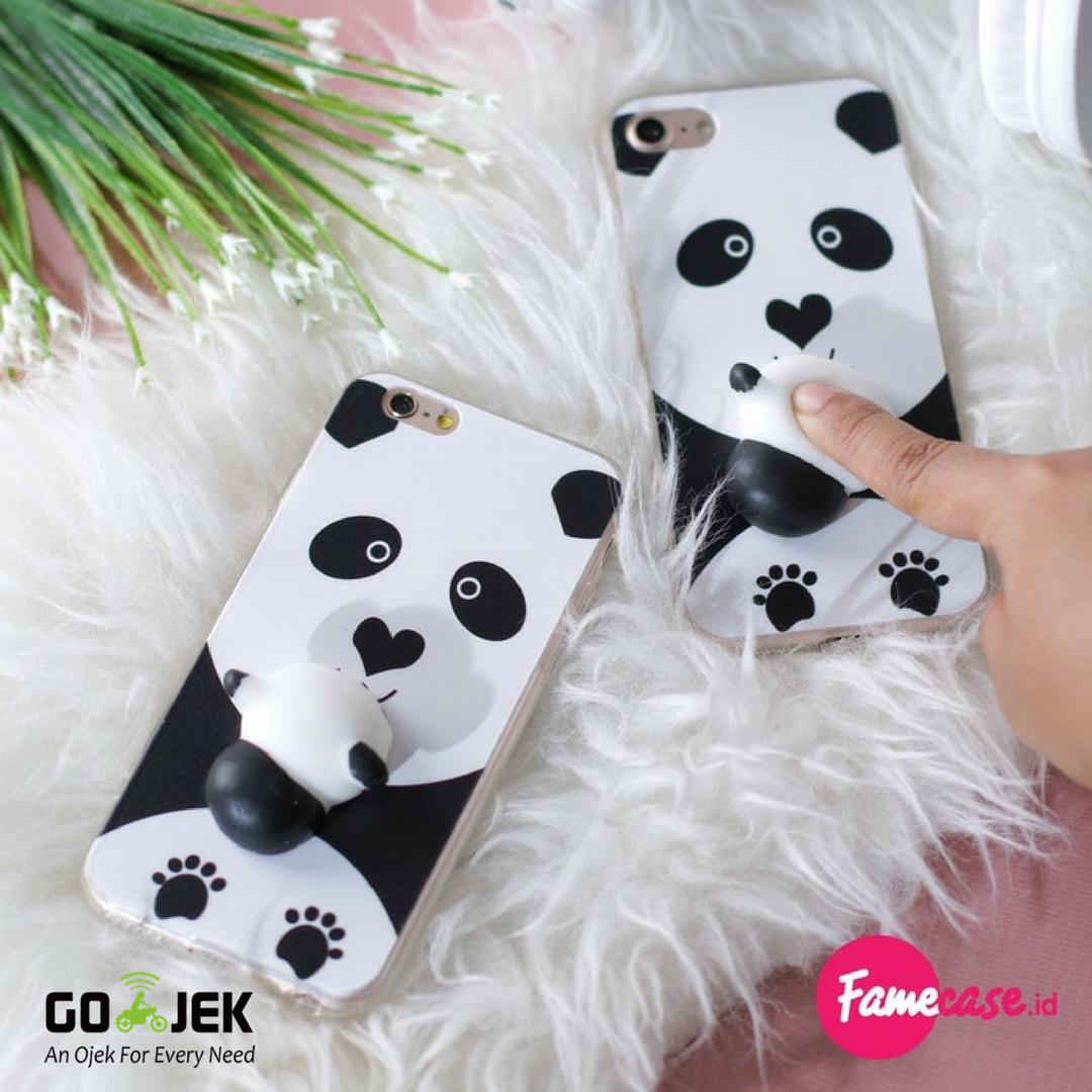 SQUISHY CASE PANDA FOR IPHONE 5 5S SE 6 6S 6S  6  7 7  MURAH TERMURAH
