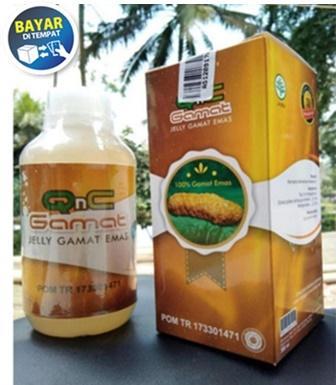 QnC Jelly Gamat Original 100% Asli (Produk Bergaransi) Obat Herbal Jeli Jely Jelli Gamat GnC