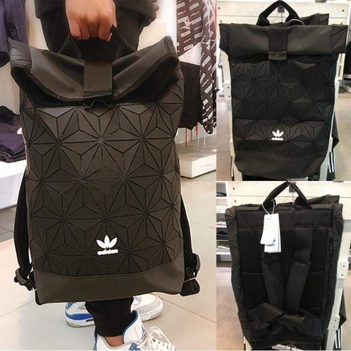 Promo Tas Ransel Adidas Issey Miyake /Tas Sport / Premium Quality / Import - Hitam