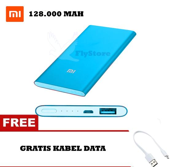 Xiaomi Power Bank Slim 128000 mAh Fast Charging - Mi Power 2nd Gen Slim