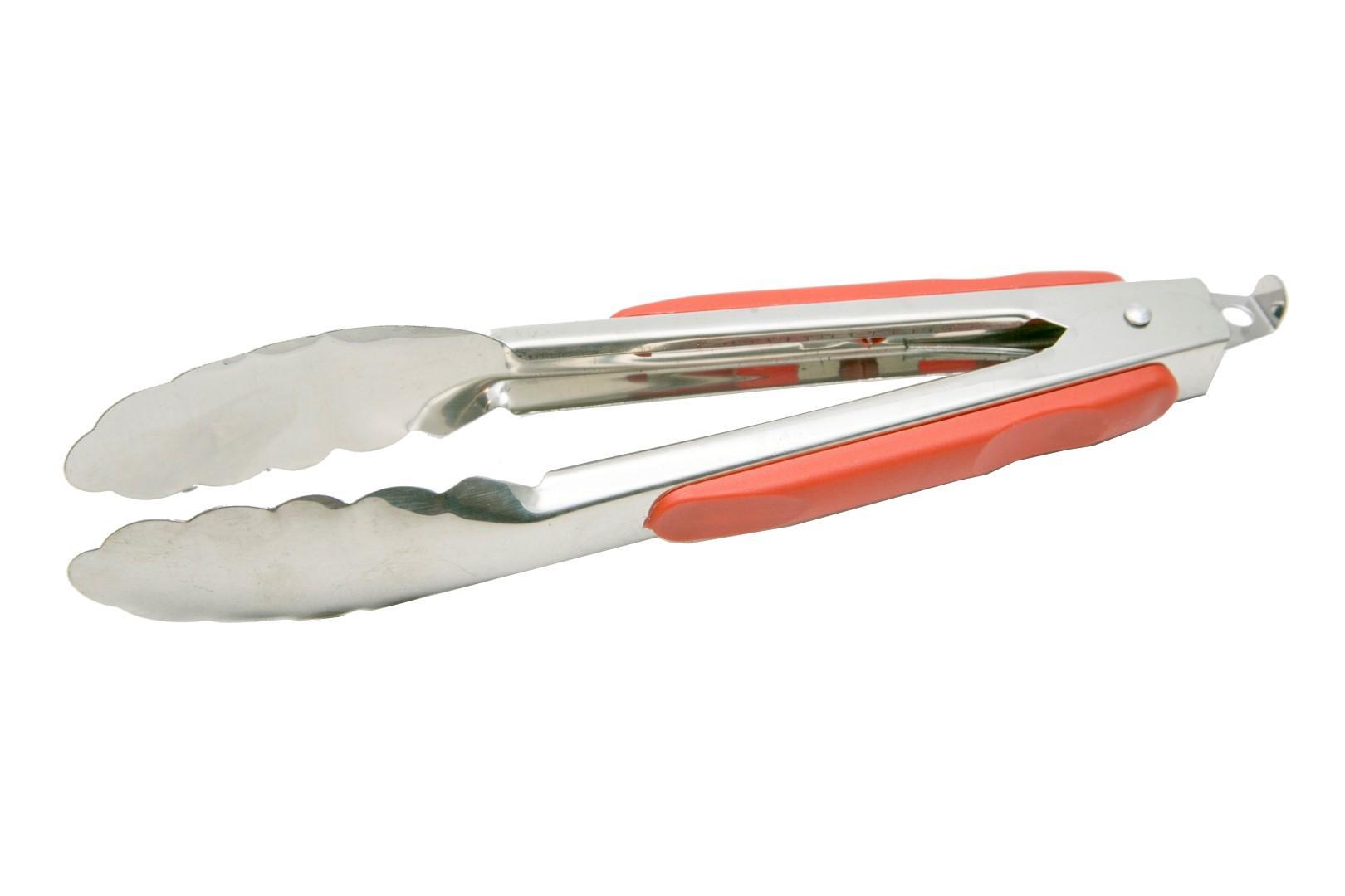 Alat Peralatan Masak Terlengkap Oxone Kitchen Tools Nylon Ox 953 Penjepit Capitan Makanan Gorengan Stainless Merah Tebal 225 Cm 9 Phm9