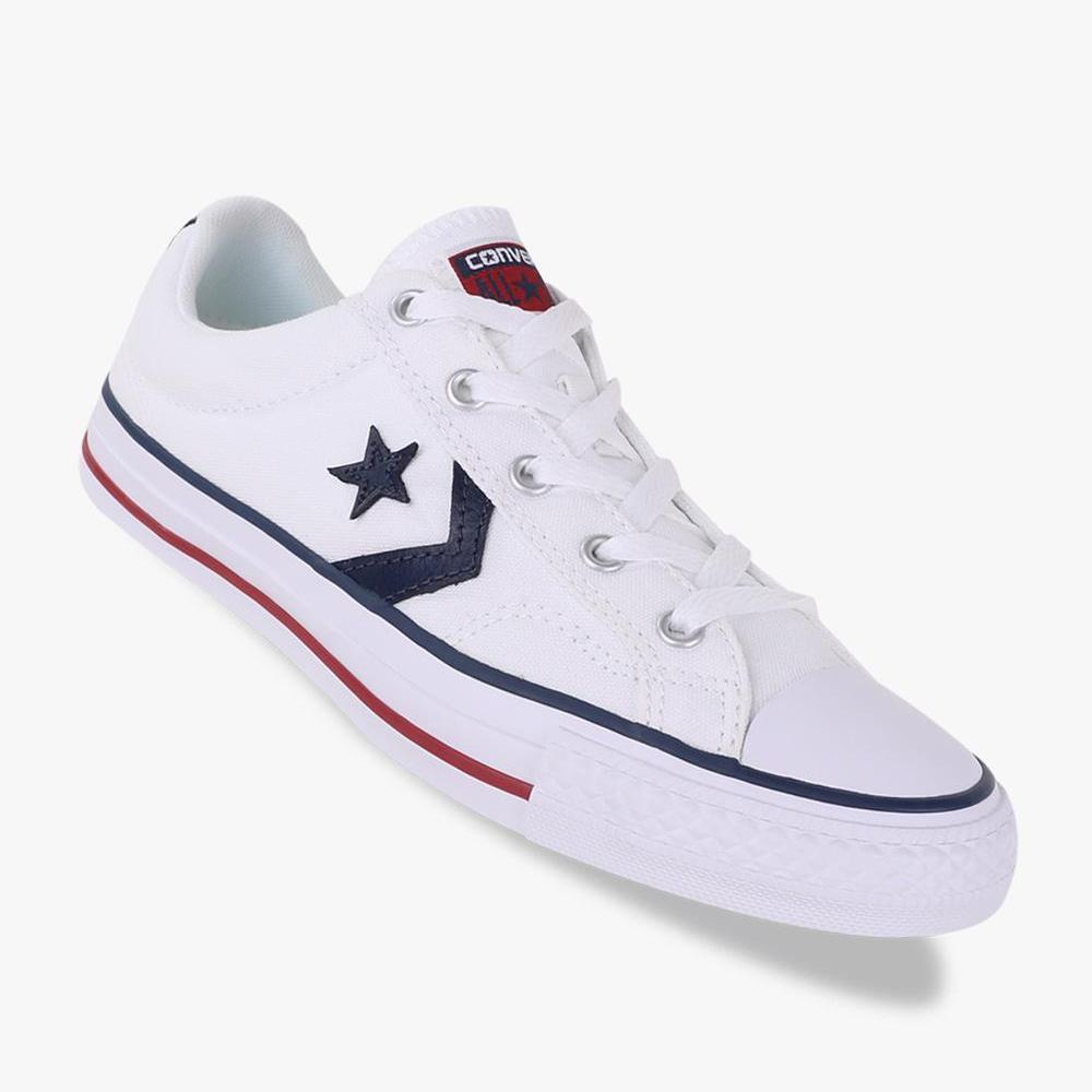 Converse Sepatu Star Player Pria - Putih 1326ec6d2f