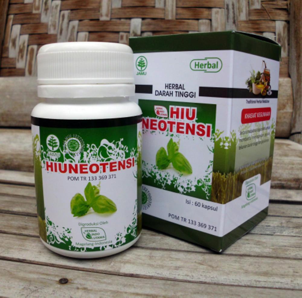 OBAT DARAH TINGGI,HIU NEOTENSI,herbal indo utama di lapak KIOS BUNDA topmanagercilegon01