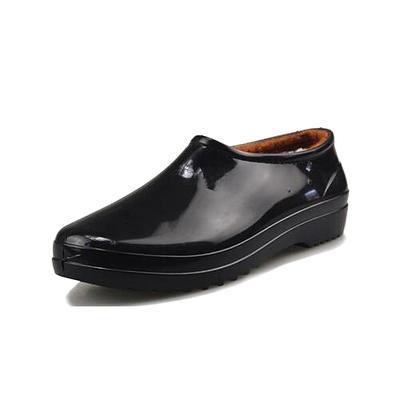 Musim Semi Dan Musim Gugur Modis Sepatu Boots Hujan Pria Dan Wanita Dewasa Sepatu Bot Hujan Sedang Sepatu Anti Air Urat Sapi Sol Tebal Tambah Beludru Anti Selip Penghangat Pendek Sepatu Boots Hujan By Koleksi Taobao.