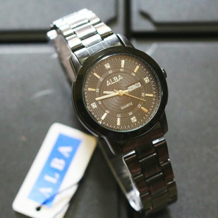 jam tangan alba tanggal hari wanita / jtr 1062 wanita / Jam tangan wanita / jam tangan model terbaru / jam tangan murah / jam tangan cantik / jam tangan modis / jam tangan elegant
