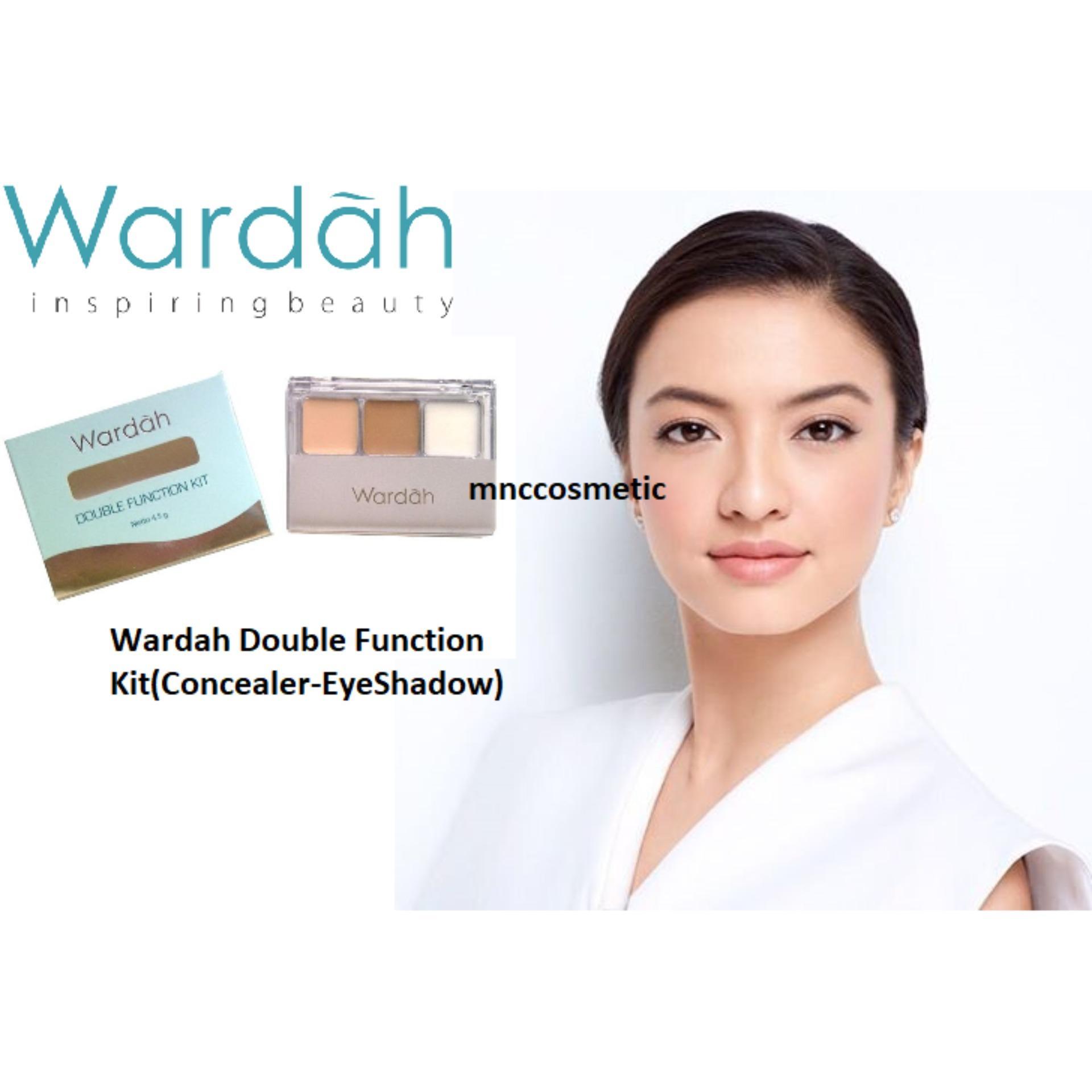 Wardah Double Function Kit (Concealer-EyeShadow)
