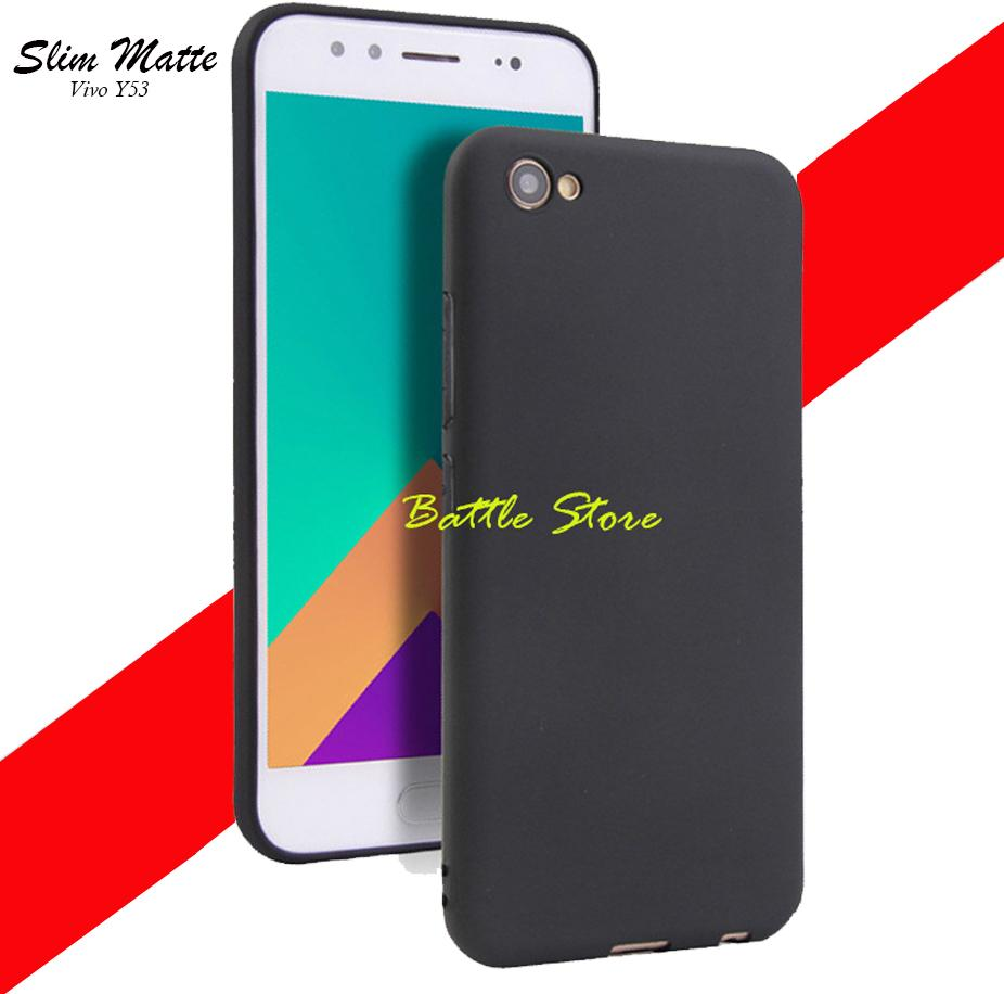 Silicone Soft Case Baby Skin For Vivo Y53 Case Luxury Matte Cover For Vivo Y53 -