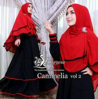 Price Checker Maxi Cammelia Syari Cammelia Syari 4 Warna / Dress Muslimah / Hijab Muslim / Gamis Syari / Baju Muslim / Fashion Muslim / Dress Muslim ...
