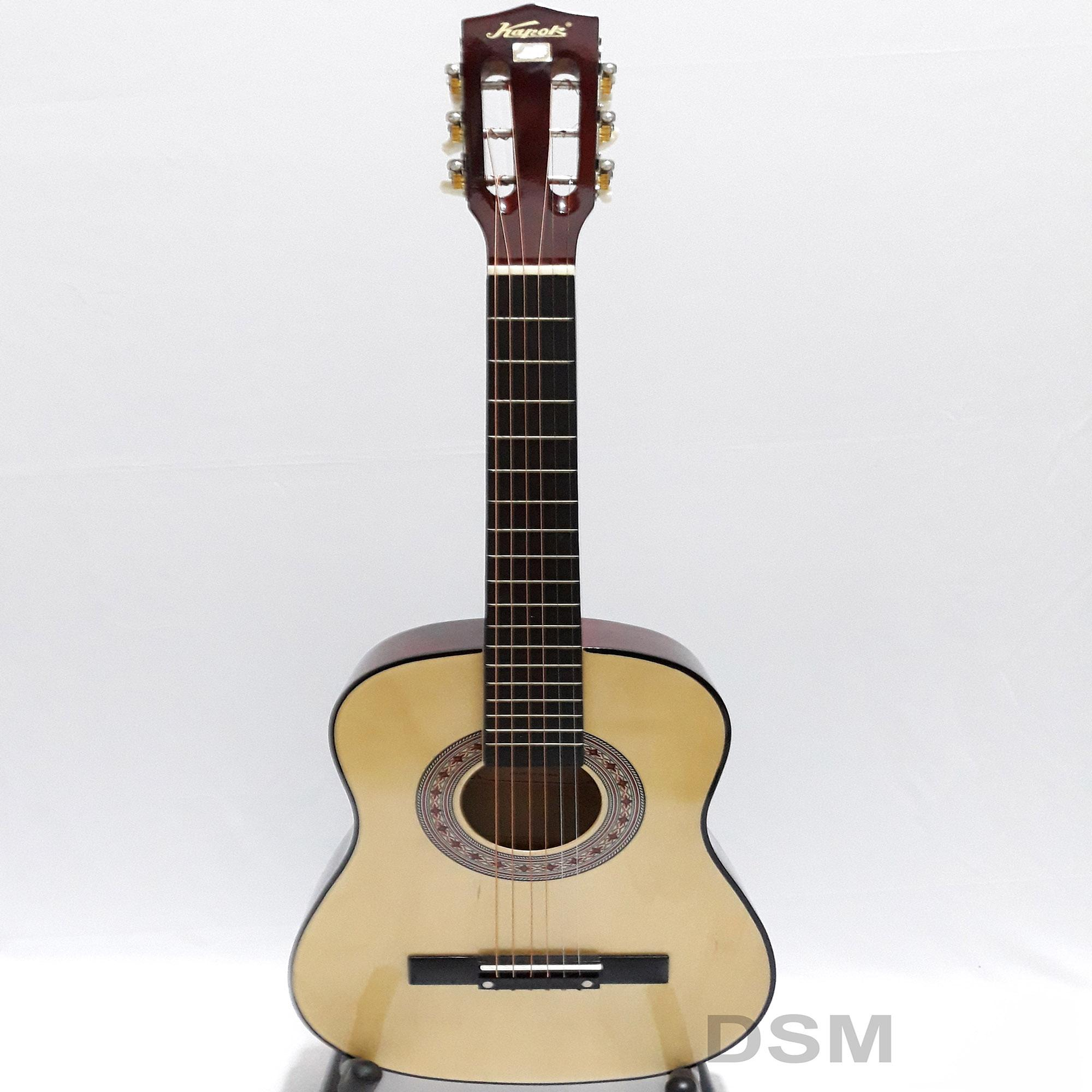 Gitar Kecil Akustik Kapok MG 034 Natural ORI
