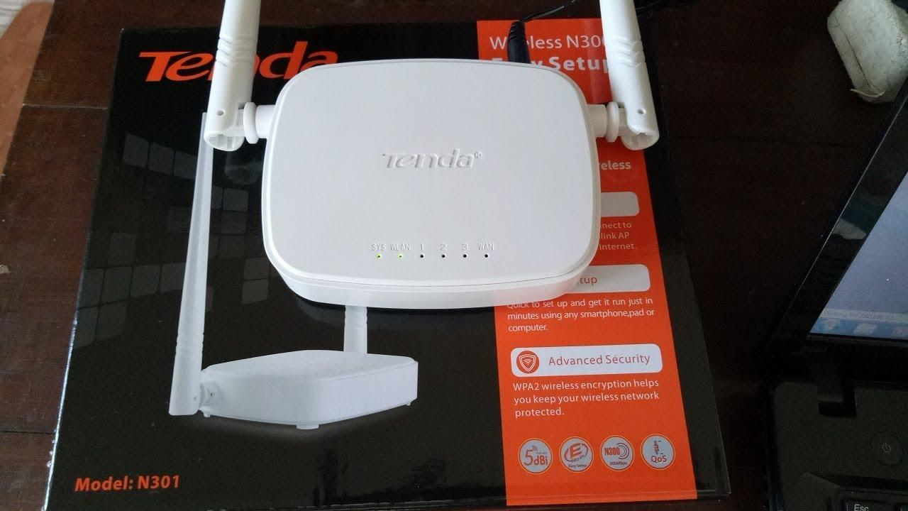 The Cheapest Price Tenda N301 Wireless N300 Easy Setup Router Wiireless 300mbps 2 Antena