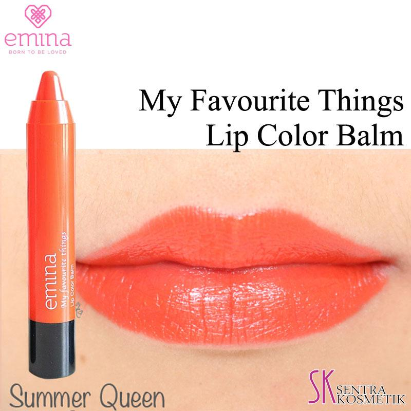 EMINA My Favourite Things Lip Color Balm 04 - Summer Queen