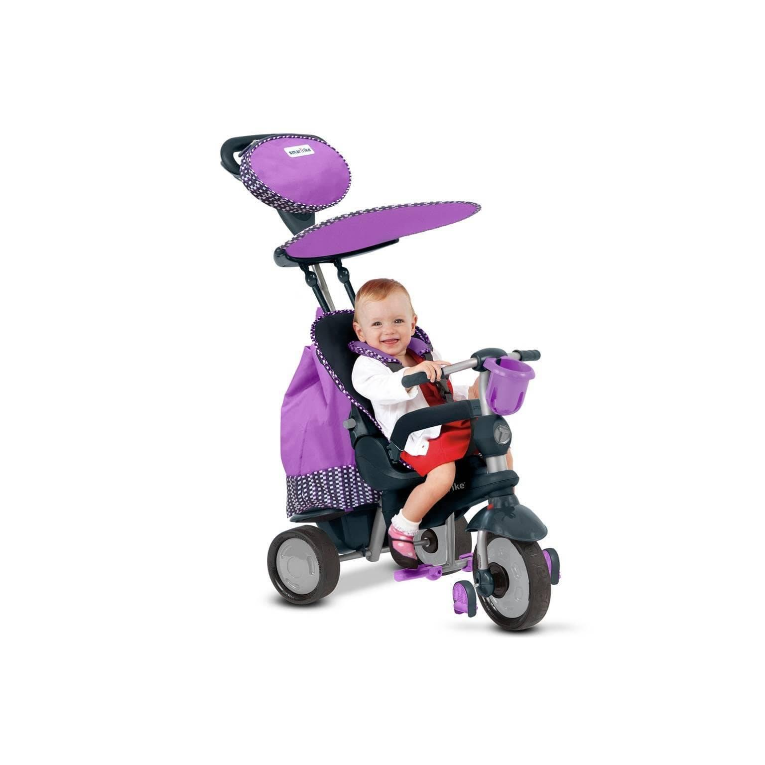 SMART TRIKE SPLASH RECLINER 5IN1 - PURPLE