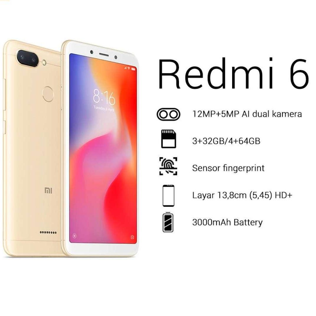 Jual Handphone Xiaomi Terbaru Redmi 5 Plus Ram 3gb Internal 32gb Blue Garansi Distributor 6 3 32 Gb Global
