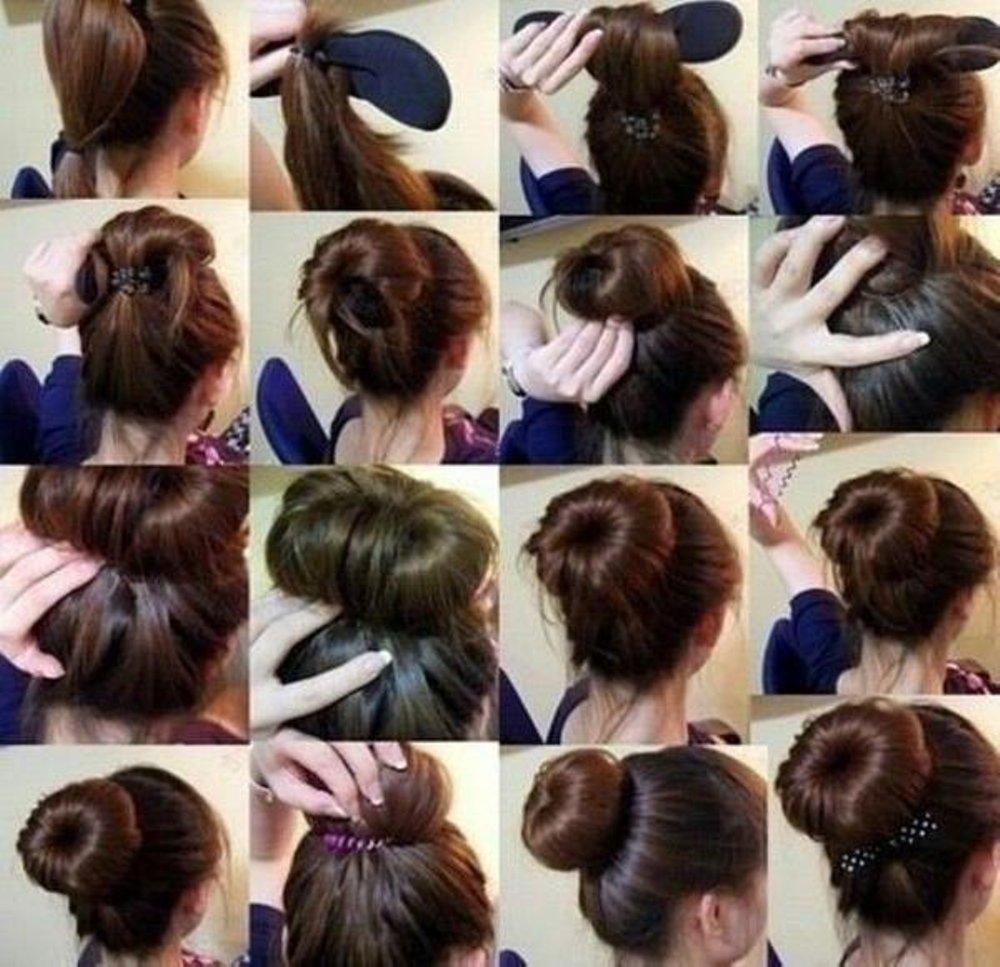 hardini memudahkan kuncir / gulung rambut / penjepit rambut hair style salon kecantikan wanita