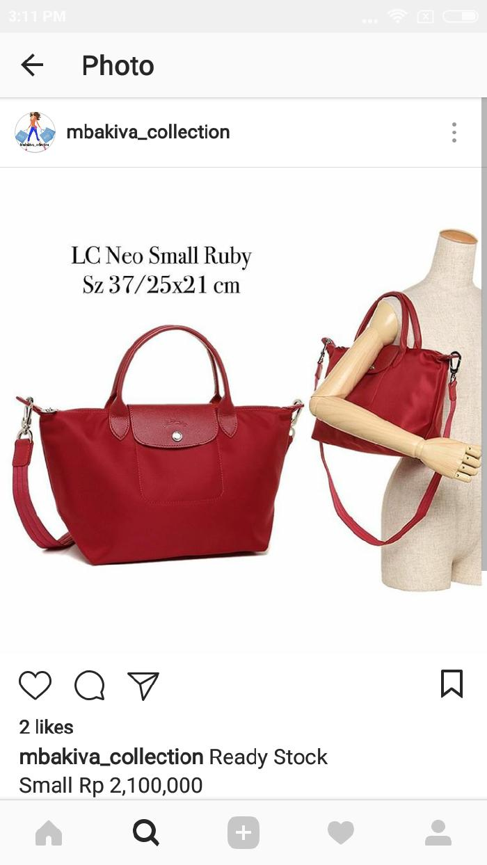 Buy Sell Cheapest Lc Neo Small Best Quality Product Deals Longchamp Ruby Sz Ready Stoc K