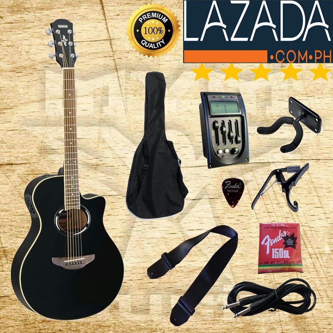 gitar akustik elektrik pream prenel lc custom yamaha apx500ll