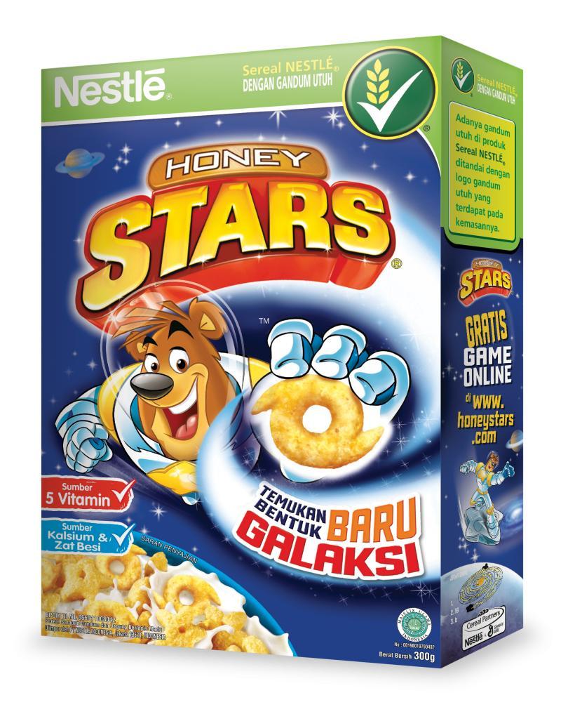 Sereal Lazada Paket 3 Pcs Naraya Oat Choco Bermacam Rasa Nestle Honey Stars Cereal 300 Gram