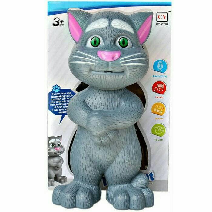 HFIS - Mainan Boneka Kucing Bisa rekam suara Nyanyi Donggeng