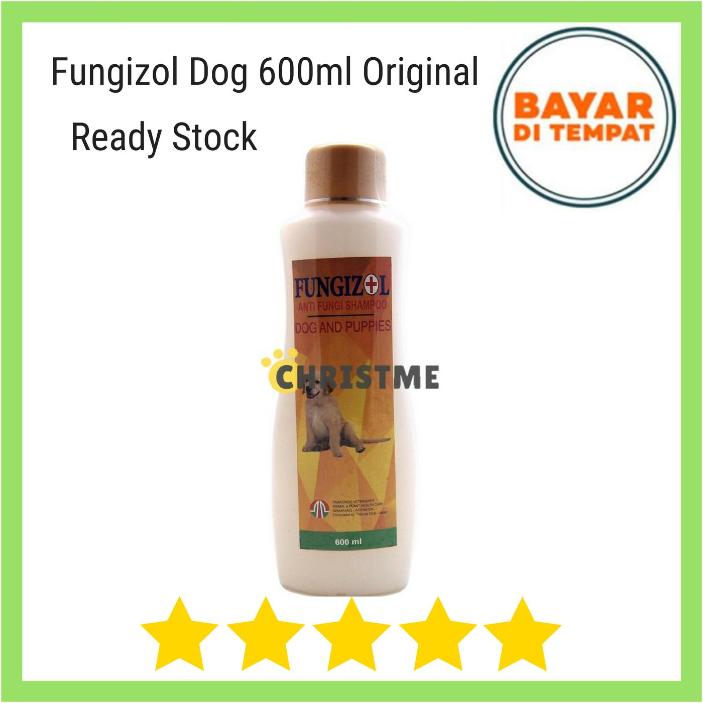 Fungizol Dog 600ml - Shampoo Anti Jamur Atau Fungi Anjing Dog Doggies Doggie Puppies By Christ Me.